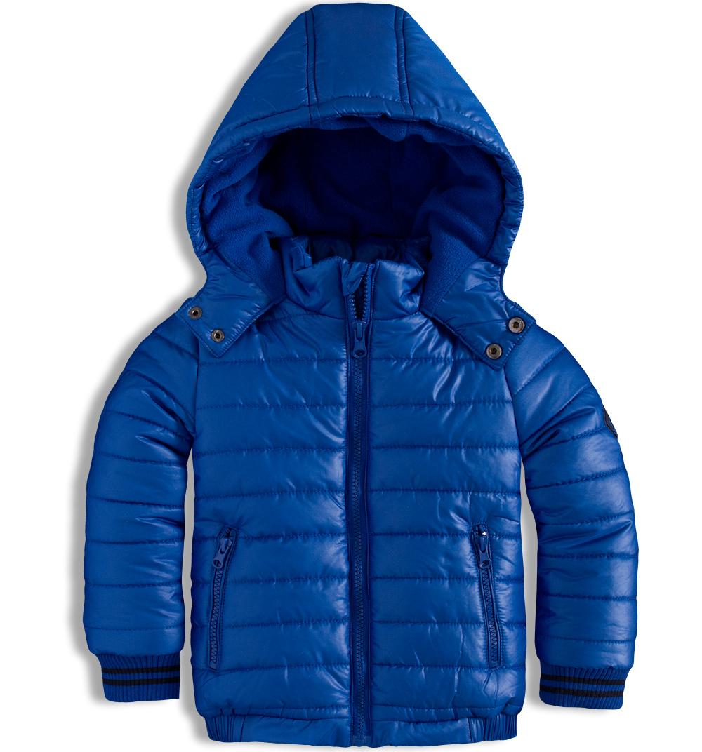 Chlapecká zimní bunda MINOTI RACE modrá Velikost: 122-128
