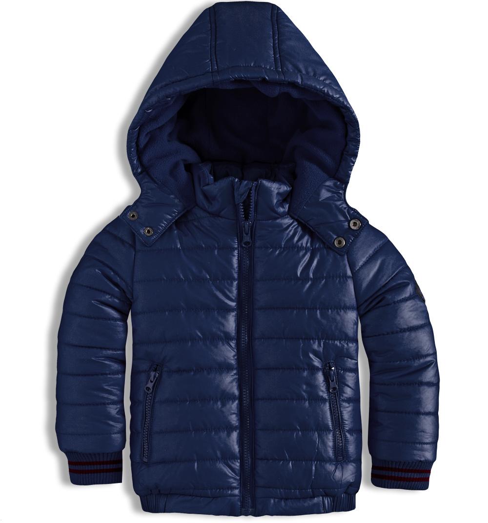 Chlapecká zimní bunda MINOTI RACE tmavě modrá Velikost: 104-110