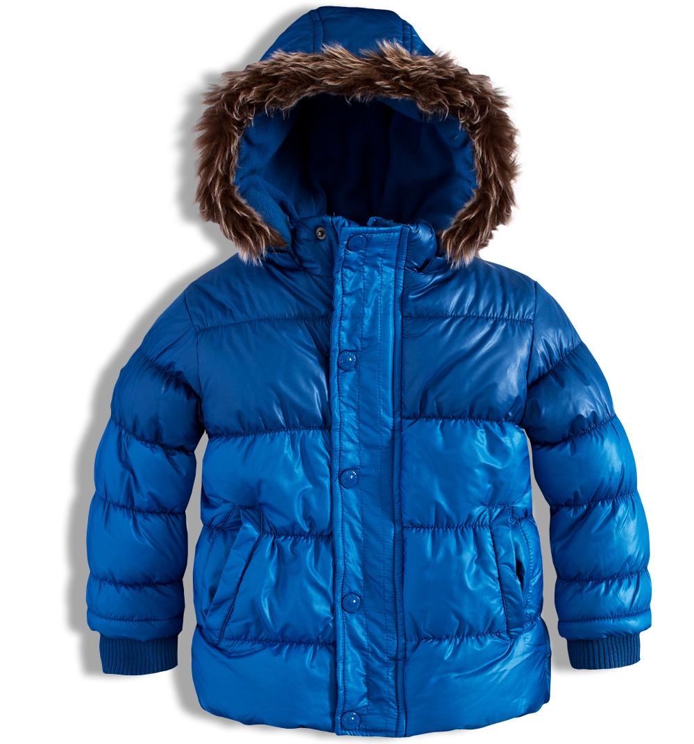 Chlapecká zimní bunda MINOTI modrá Velikost: 122-128