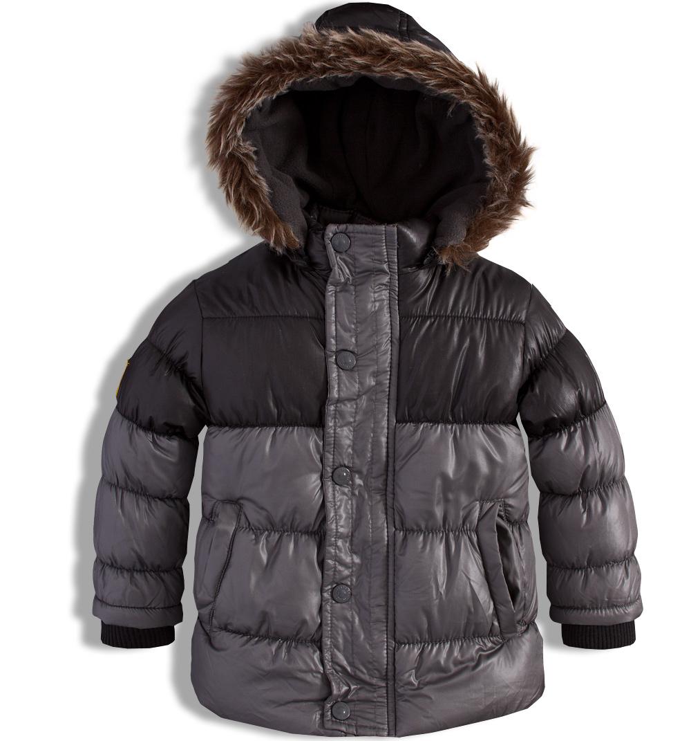 Chlapecká zimní bunda MINOTI šedá Velikost: 104-110