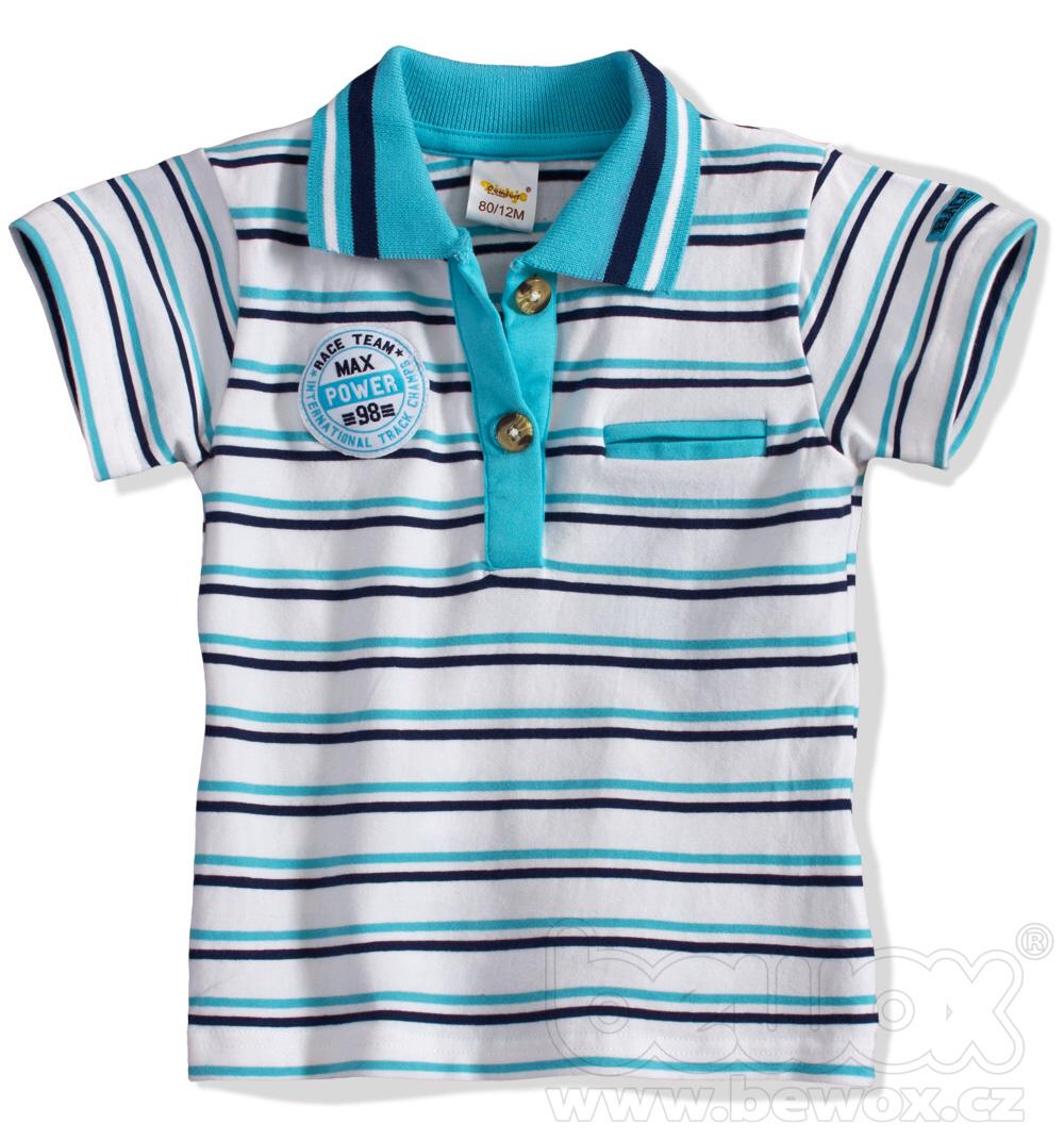 Dětské tričko s límečkem DIRKJE Velikost: 98