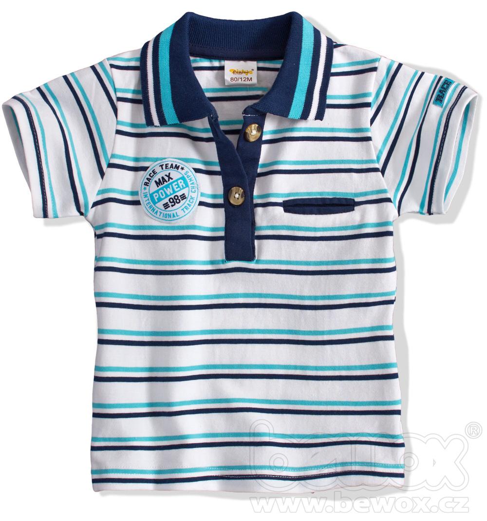 Dětské tričko s límečkem DIRKJE Velikost: 80