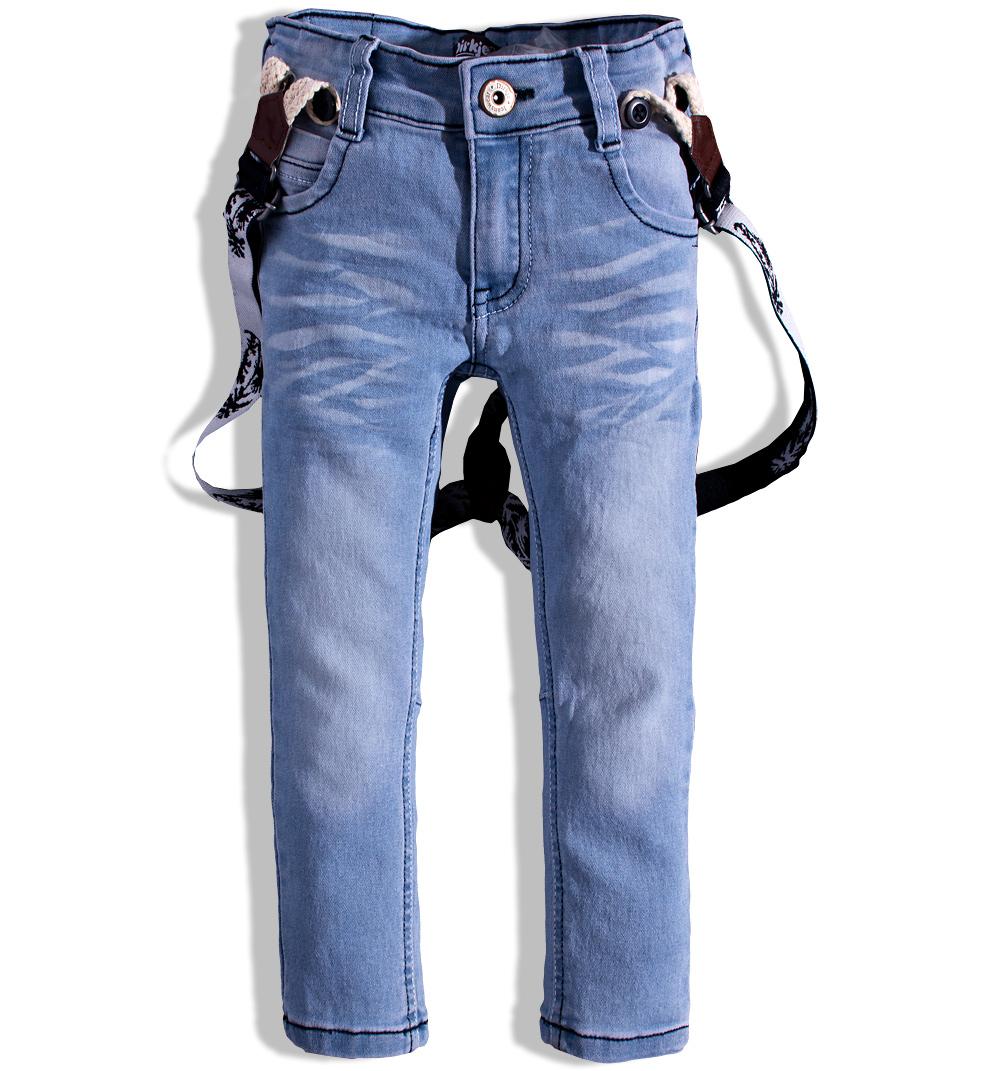 Chlapecké džíny s kšandami DIRKJE Velikost  104 f737000065