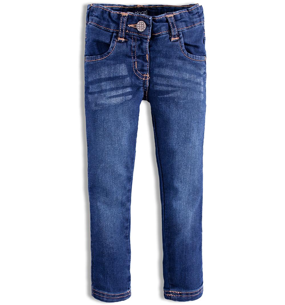 5fad509104f Dívčí elastické džíny Minoti FUNKY Velikost  86-92