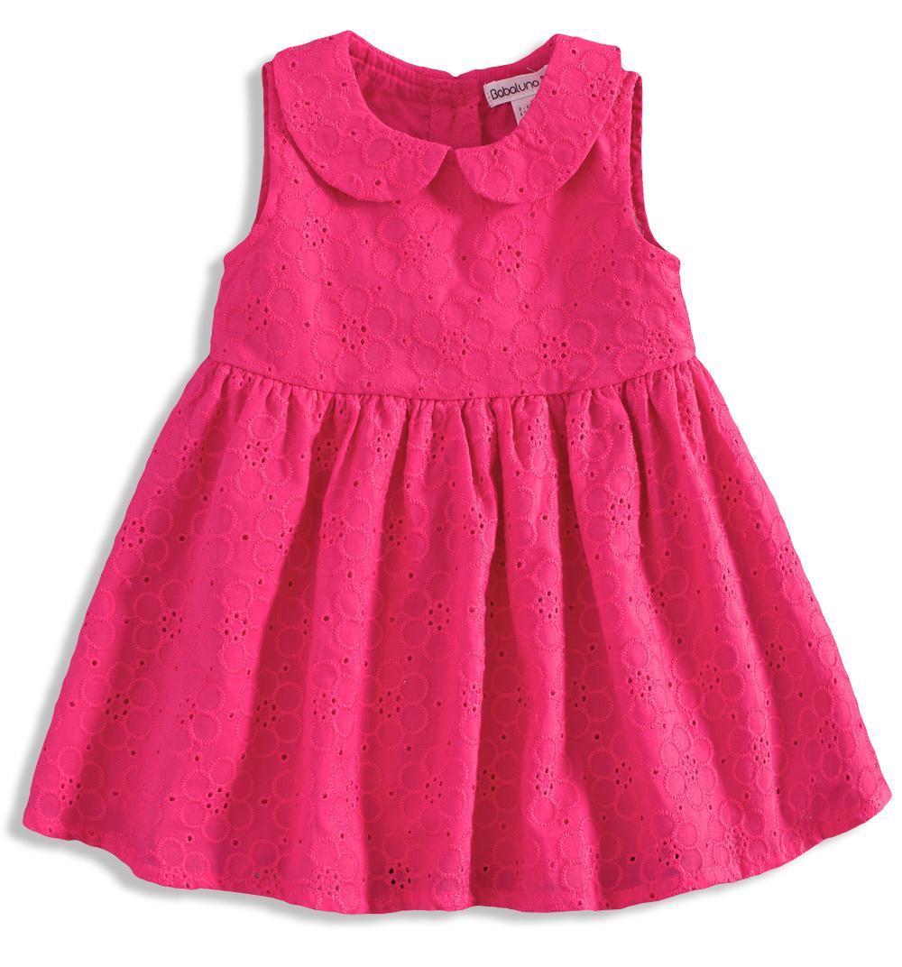 BABALUNO Kojenecké šaty pro holčičky Velikost: 56-62