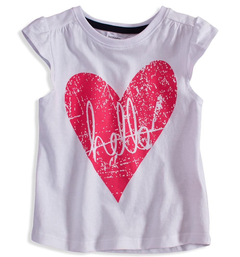 Dívčí tričko s potiskem MINOTI RIVIERA bílé Velikost  104-110 f58c7fc491