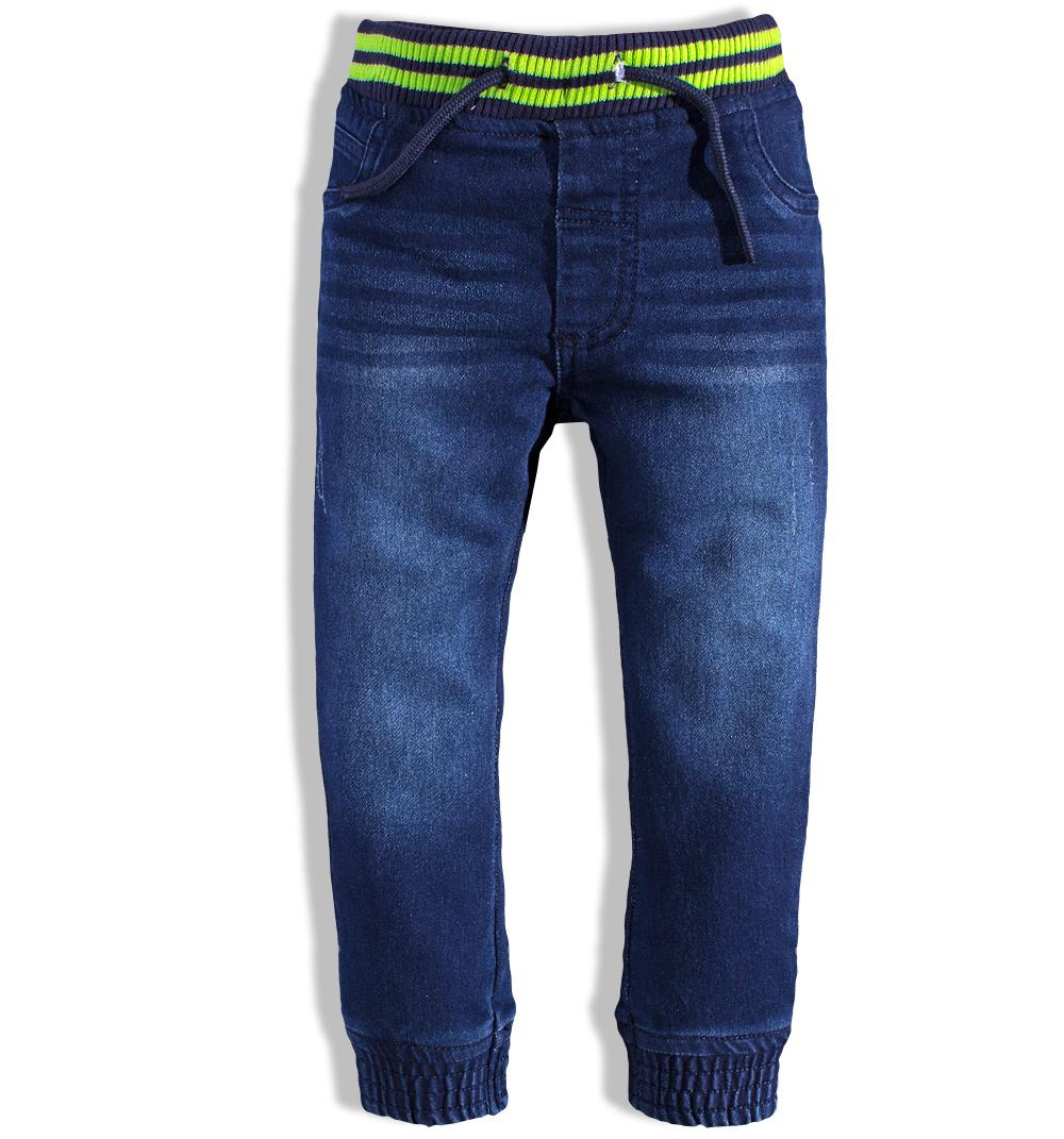Kojenecké džínové kalhoty MINOTI GREEN Velikost: 86