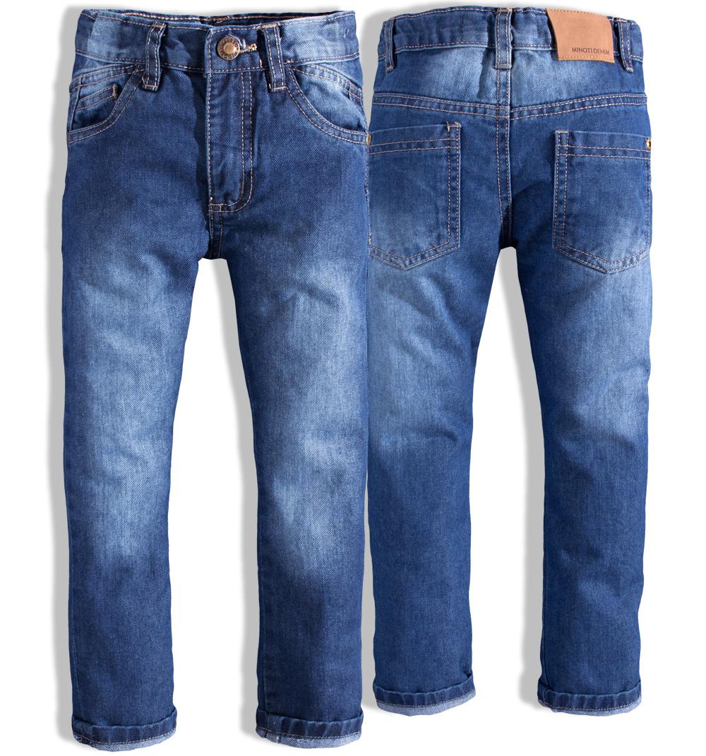 Dětské džíny pro kluky MINOTI HEAT modré Velikost: 98-104