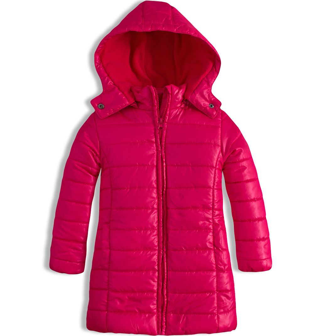 Dívčí zimní kabát LOSAN růžový Velikost: 92