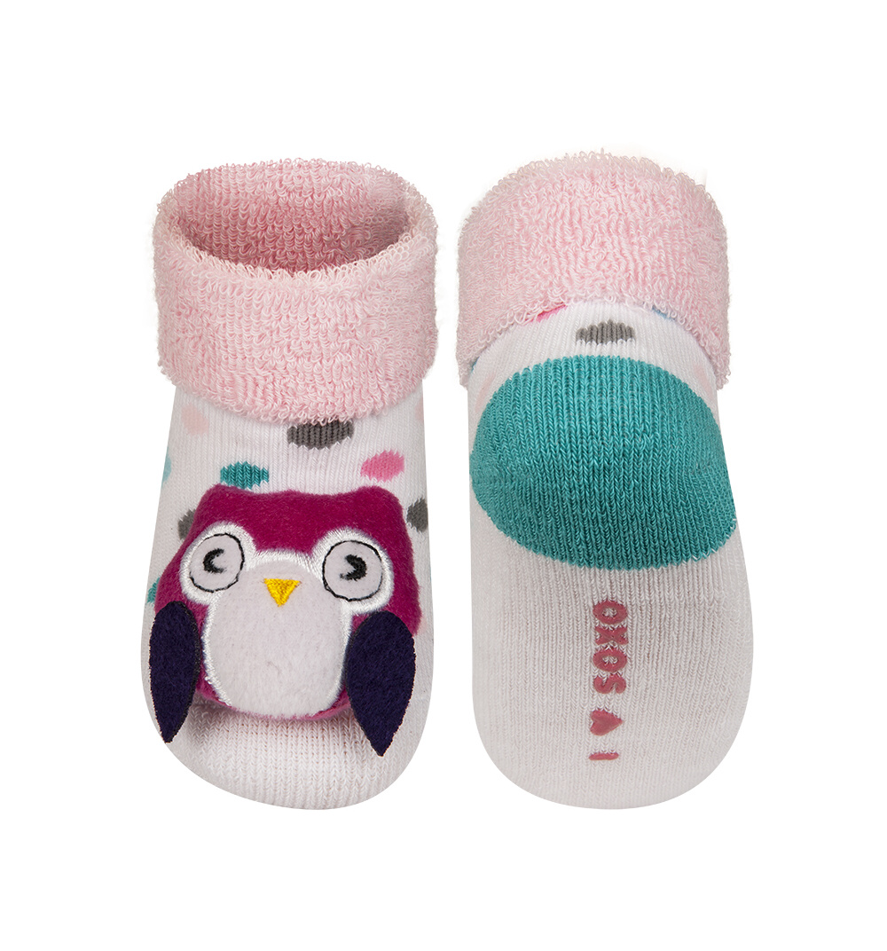 12dcb30766e SOXO Ponožky s chrastítkem SOVA Velikost  16-18