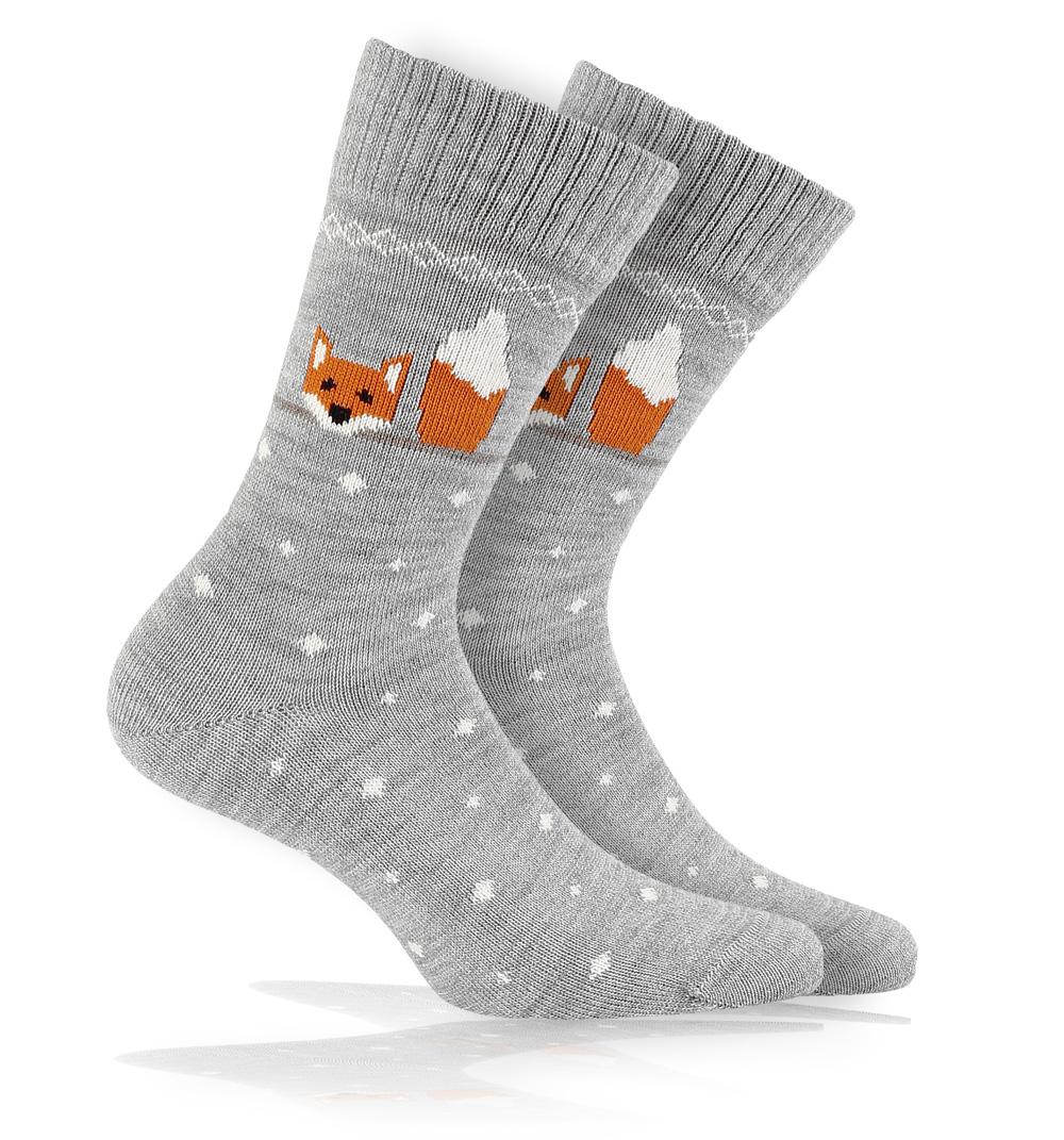 Vlněné ponožky WOLA LIŠKA