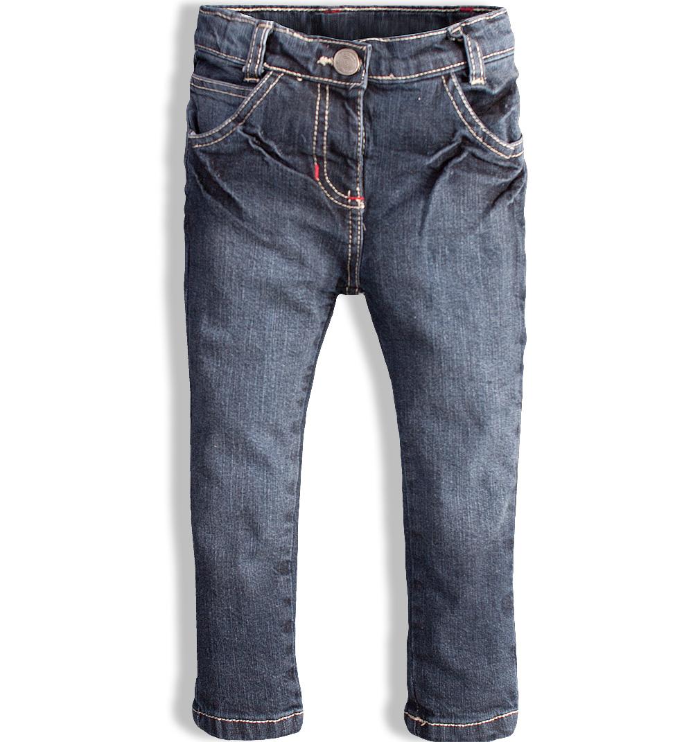 73bbb8bc8e3 Dívčí džíny MINOTI DAY modré Velikost  86-92
