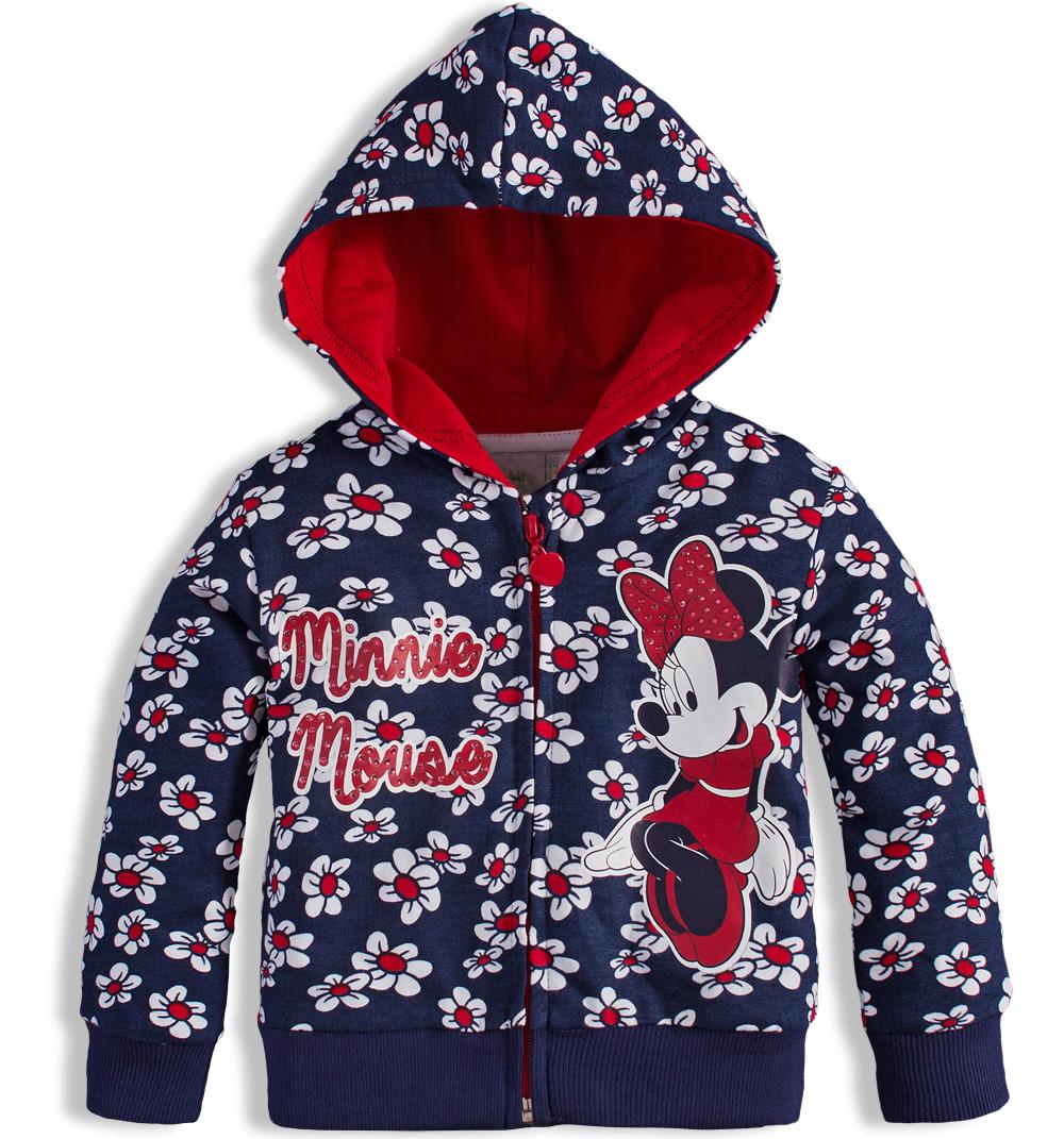 Dívčí mikina Disney MINNIE modrá Velikost: 92