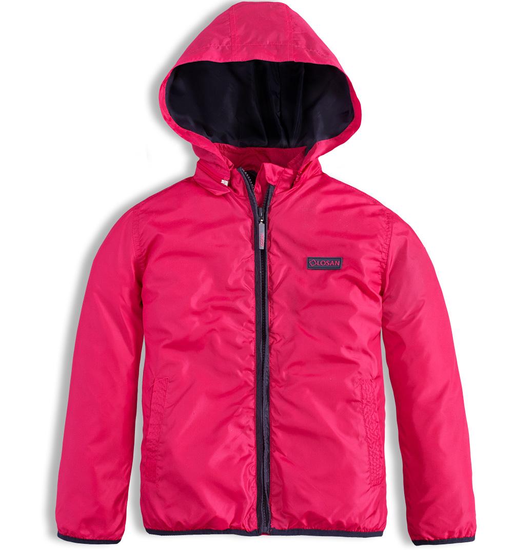 Dívčí šusťáková bunda LOSAN růžová Velikost: 164
