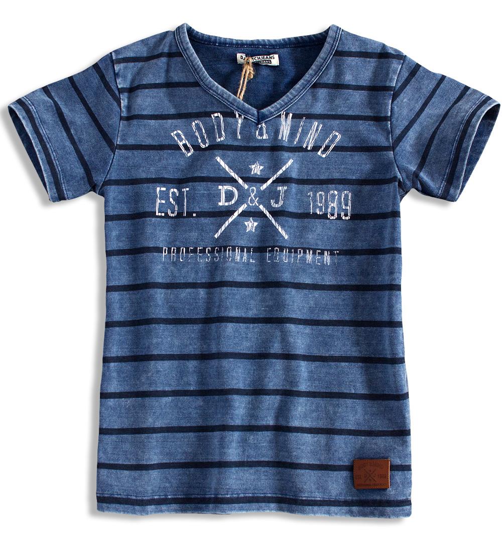 Chlapecké tričko DIRKJE BODY MIND modré Velikost: 152