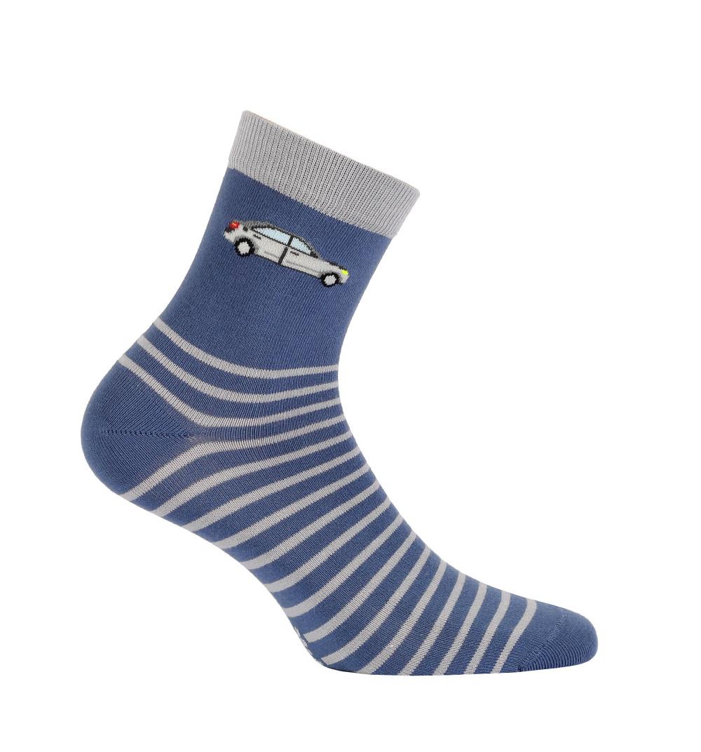 c384b3e4585 Chlapecké ponožky se vzorem WOLA PROUŽKY