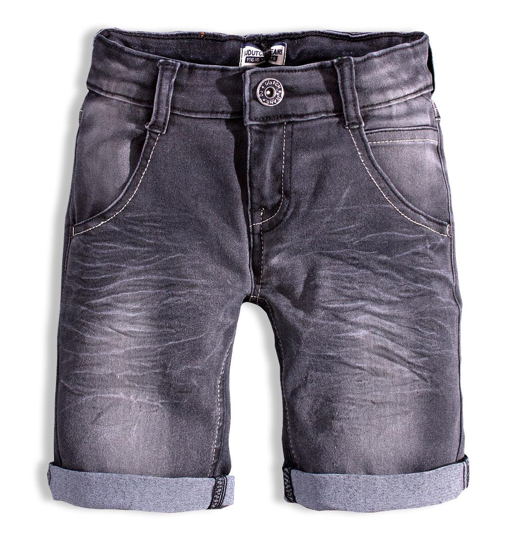 Chlapecké džínové šortky DIRKJE černé Velikost: 152