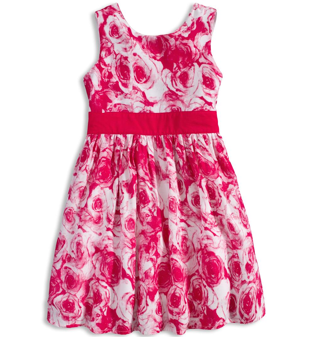d94c103b383 Dívčí letní šaty MINOTI MIX růžové Velikost  104-110