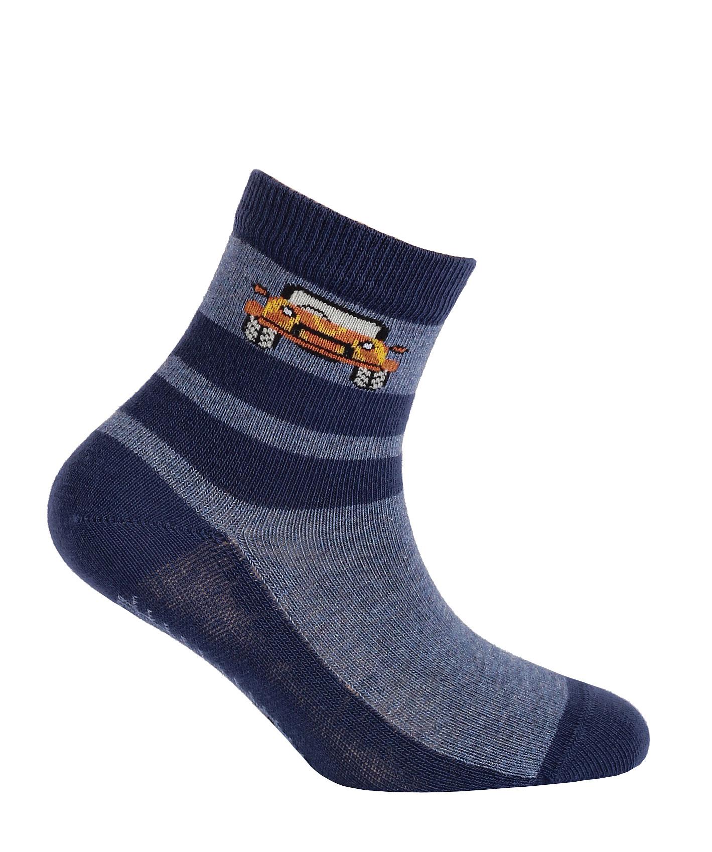 Chlapecké ponožky s obrázkem GATTA JEEP modré Velikost: 21-23