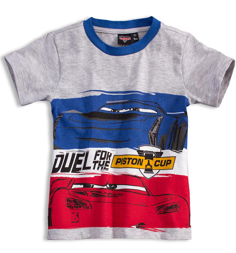 Chlapecké tričko Disney AUTA šedé Velikost: 122