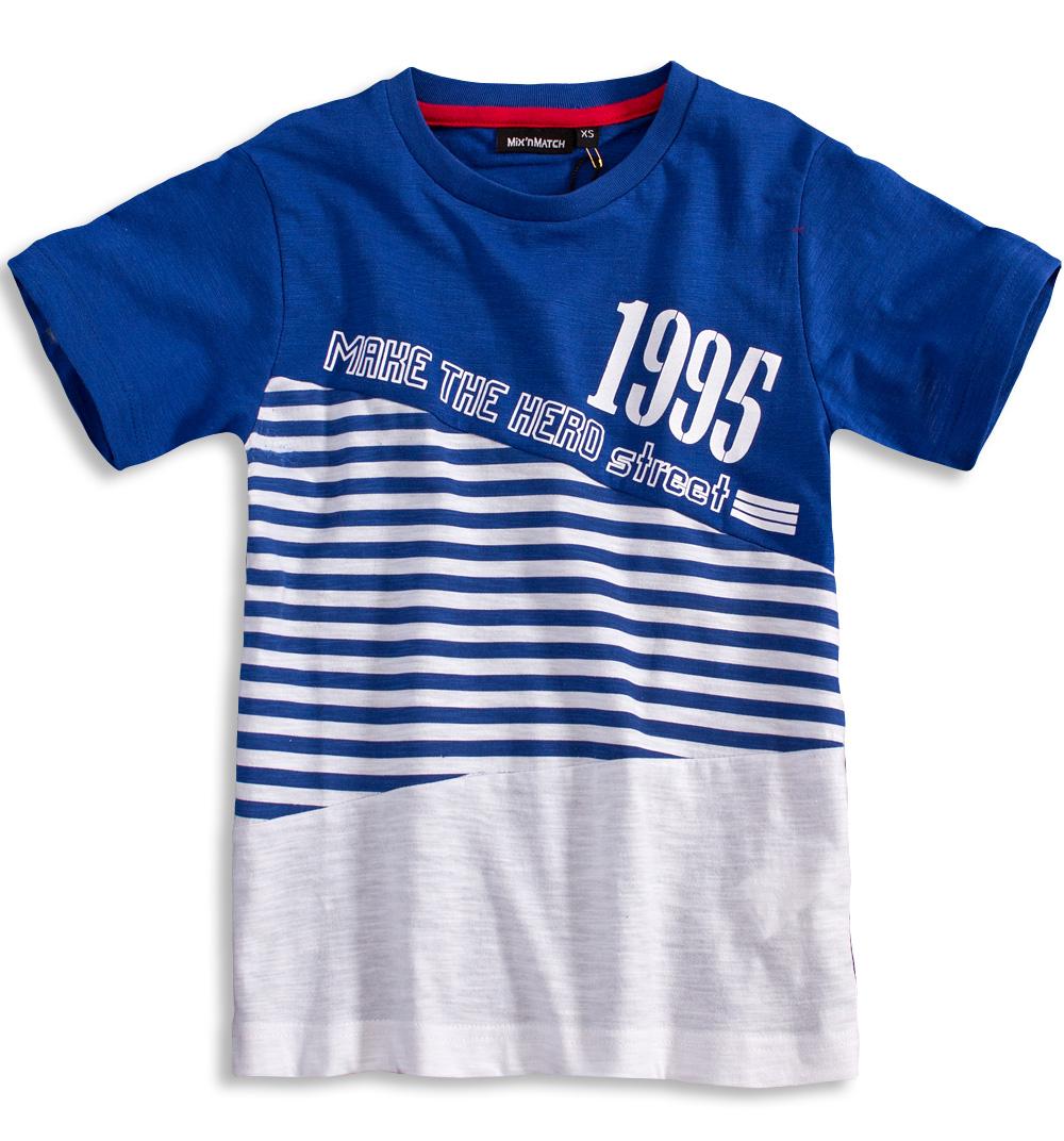 Chlapecké tričko Mix´nMATCH STREET modré Velikost: 152