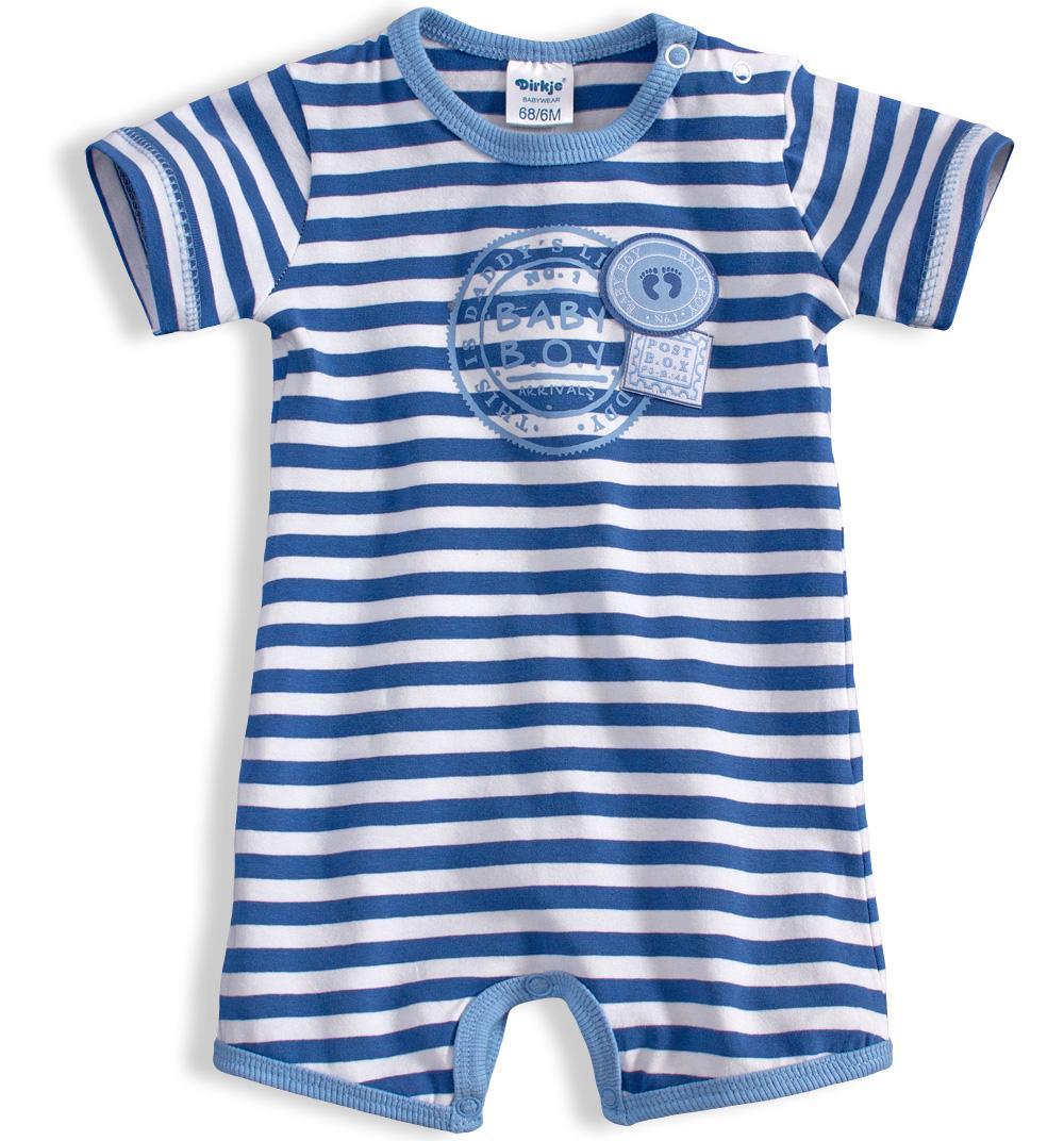 Chlapecký letní overal DIRKJE BABY BOY modrý Velikost: 56
