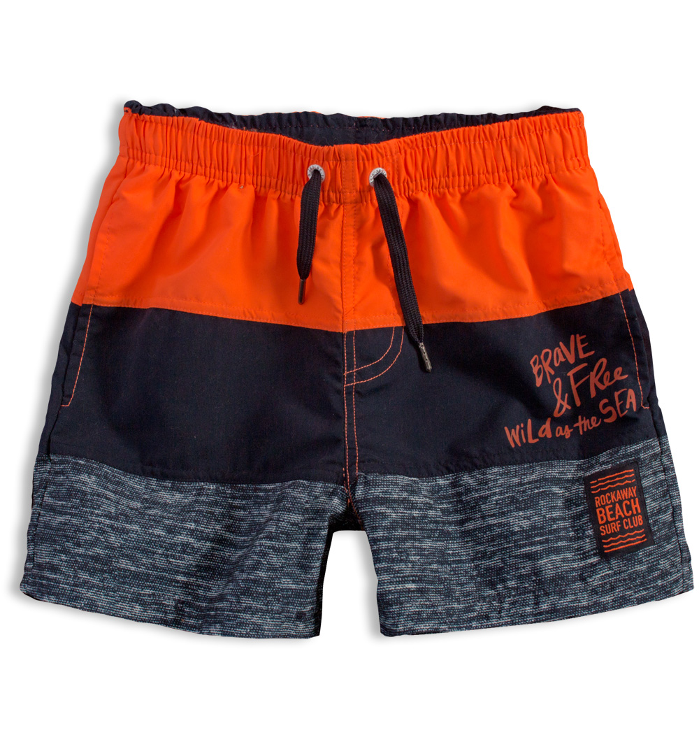 Chlapecké plavky LOSAN BEACH SURF oranžové Velikost: 152