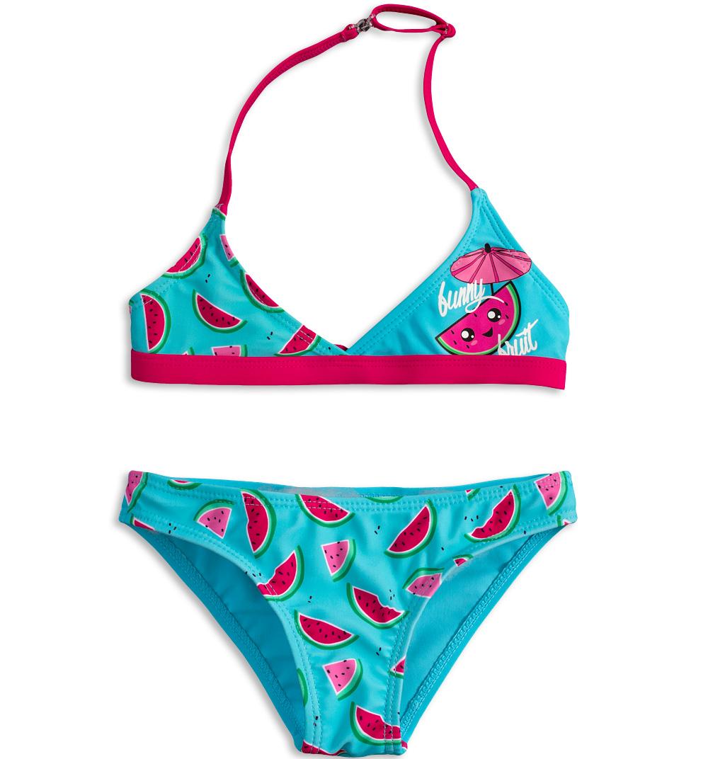 Dívčí plavky KNOT SO BAD FUNNY FRUIT růžové Velikost  98 9b64018319