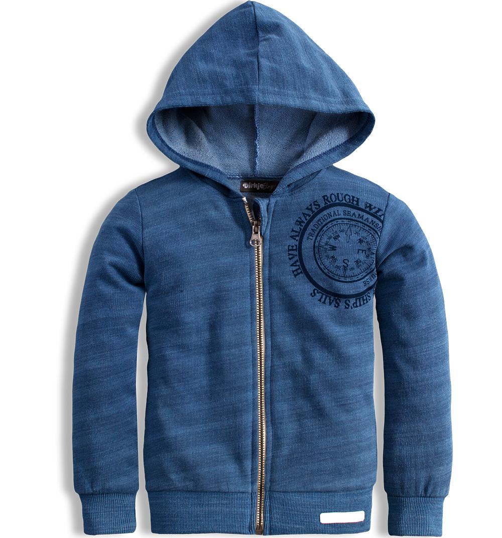 Dětská mikina DIRKJE SEAMAN modrá Velikost  68 30ee9432473