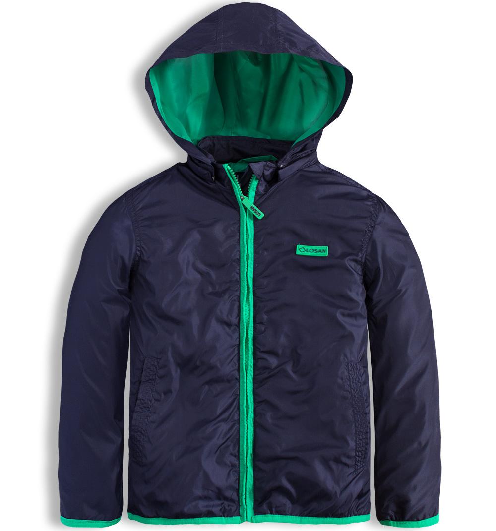 Dětská šusťáková bunda LOSAN modrá Velikost: 152
