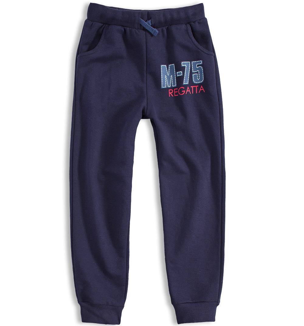 Chlapecké tepláky KNOT SO BAD REGATTA modré Velikost: 152