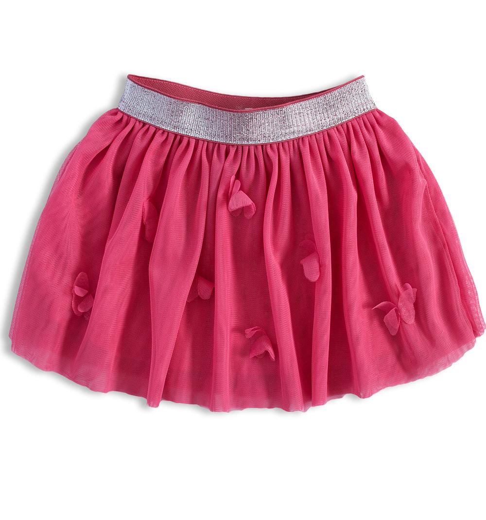 Dívčí tutu sukně KNOT SO BAD MOTÝLI růžová Velikost  92 f59f541999