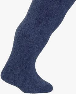 Kojenecké froté punčocháče WOLA NÁKLADNÍ AUTA tmavě modré Velikost: 62-74