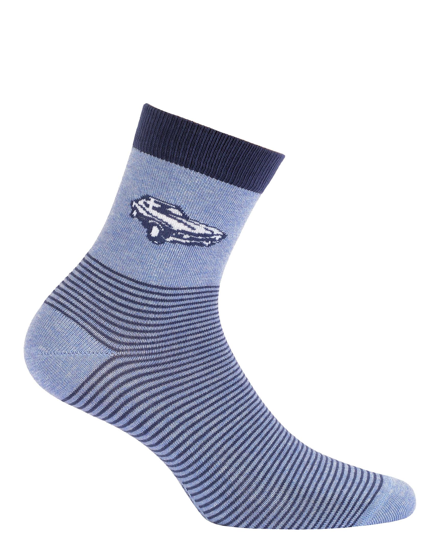 0414af0e513 Chlapecké ponožky WOLA AUTO modré Velikost  36-38