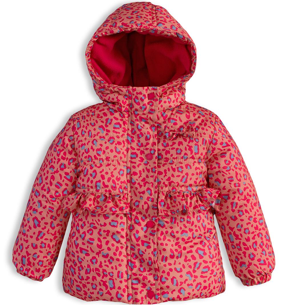 Dívčí zimní bunda LEMON BERET BABY oranžová Velikost: 68