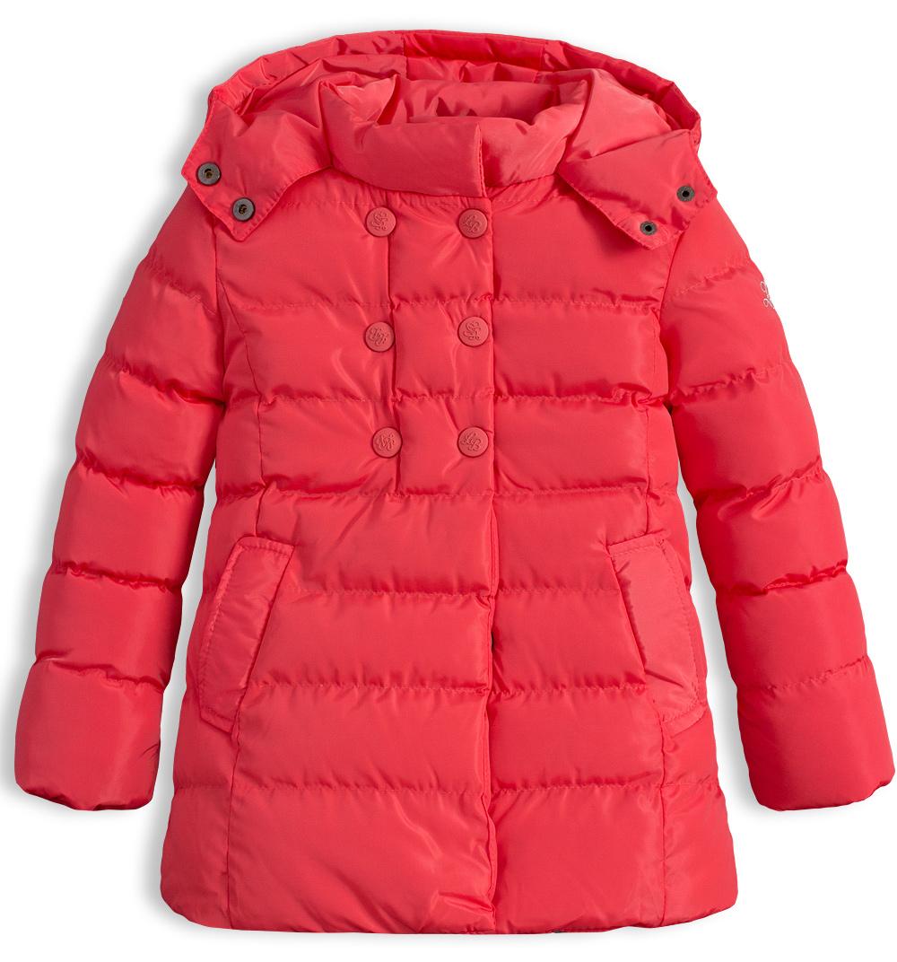 Dívčí zimní bunda LEMON BERET DUBARRY oranžová Velikost: 128