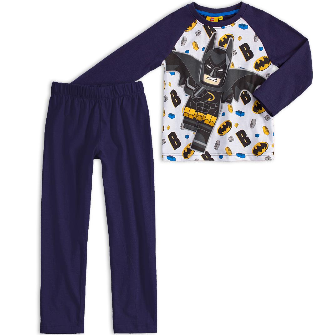 Chlapecké pyžamo LEGO BATMAN tmavě modré Velikost: 104