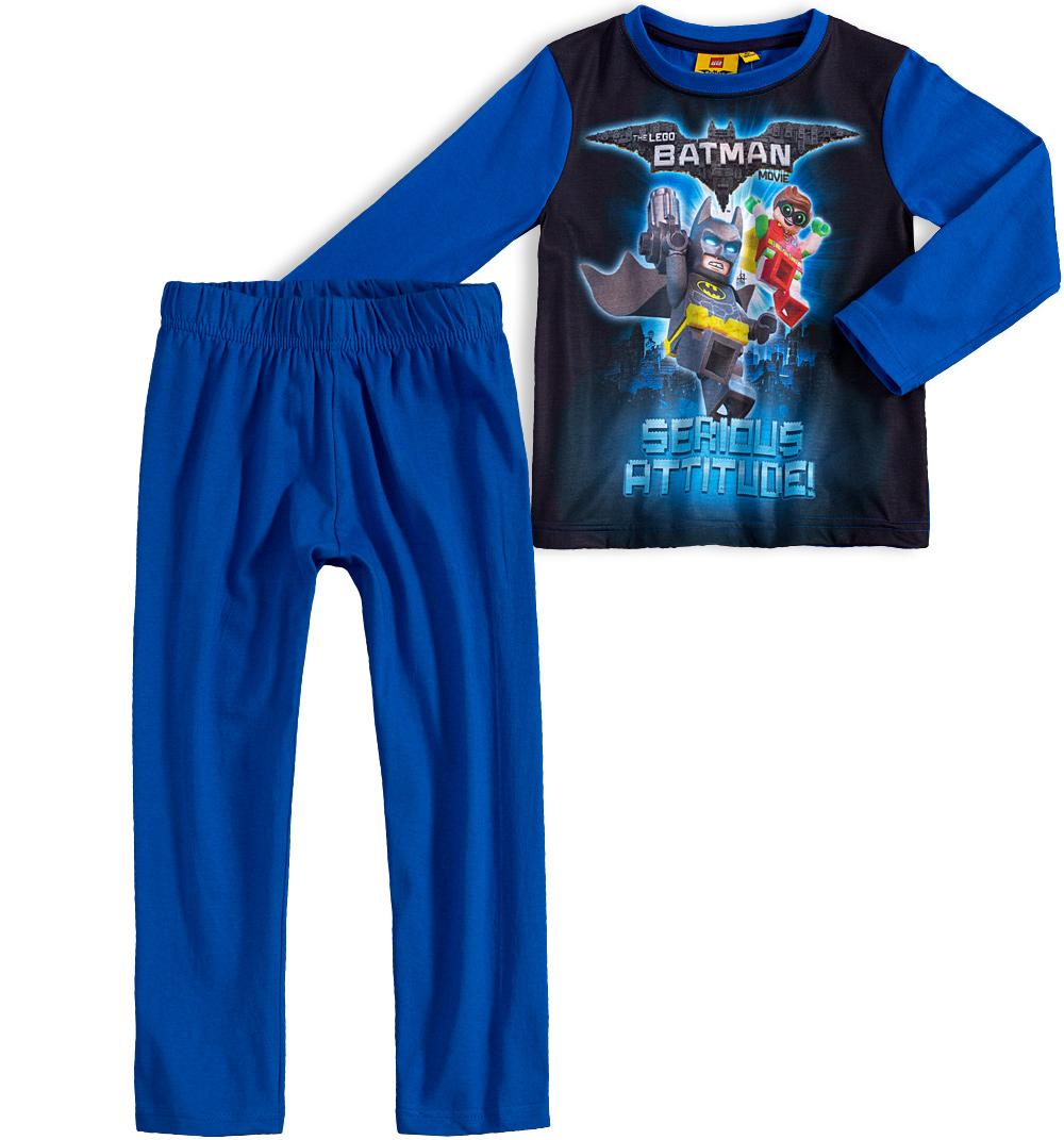 Chlapecké pyžamo LEGO BATMAN MOVIE modré Velikost: 104 Lego Batman