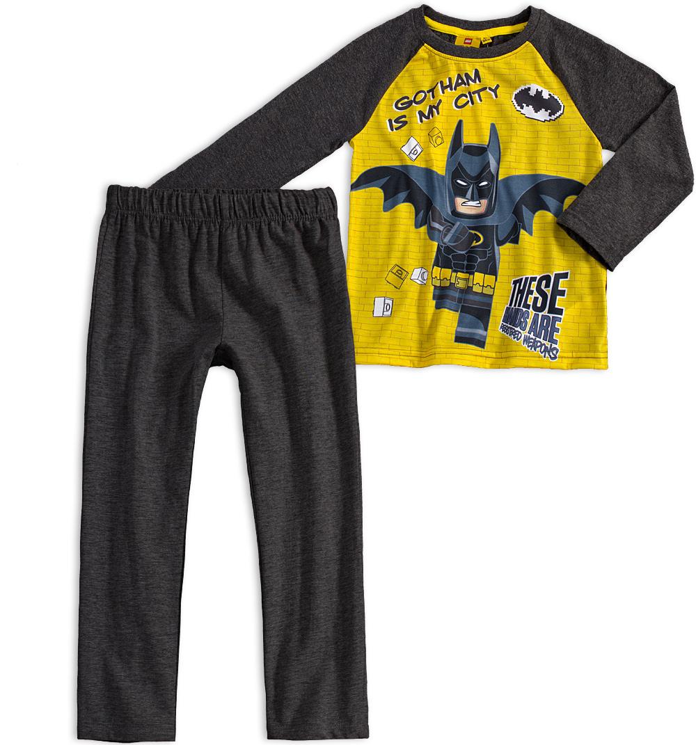 Chlapecké pyžamo LEGO BATMAN GOTHAM žluté Velikost: 104