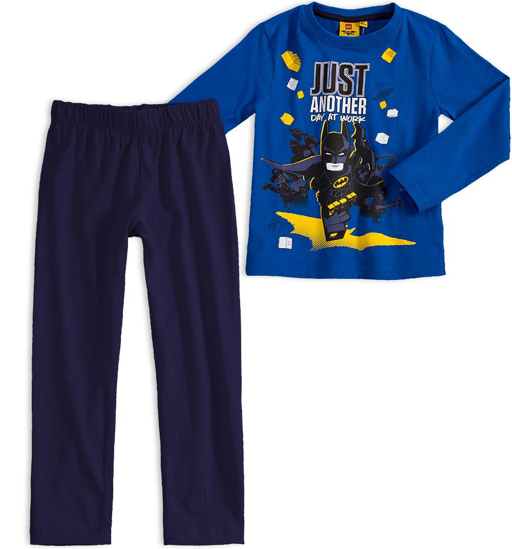 Chlapecké pyžamo LEGO BATMAN ANOTHER DAY modré Velikost: 104