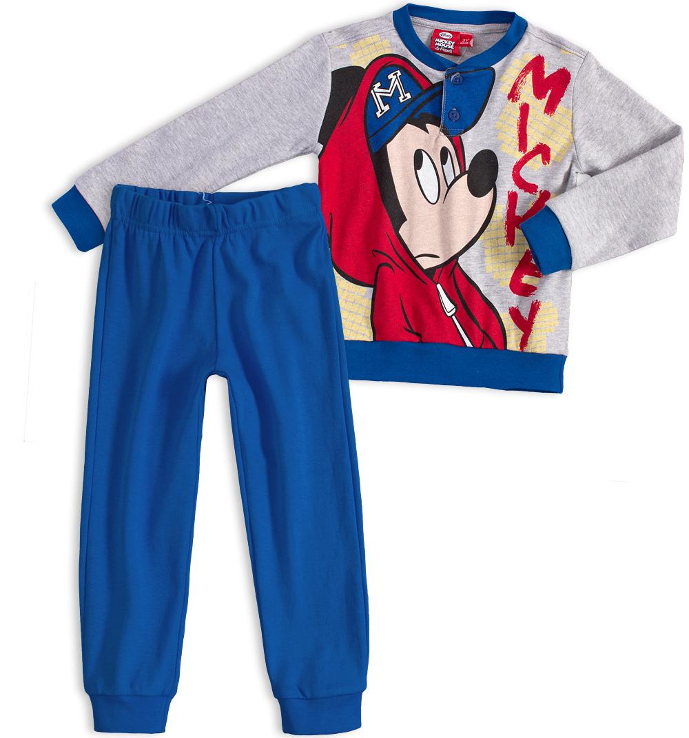 Chlapecké pyžamo DISNEY MICKEY MOUSE šedé Velikost: 104