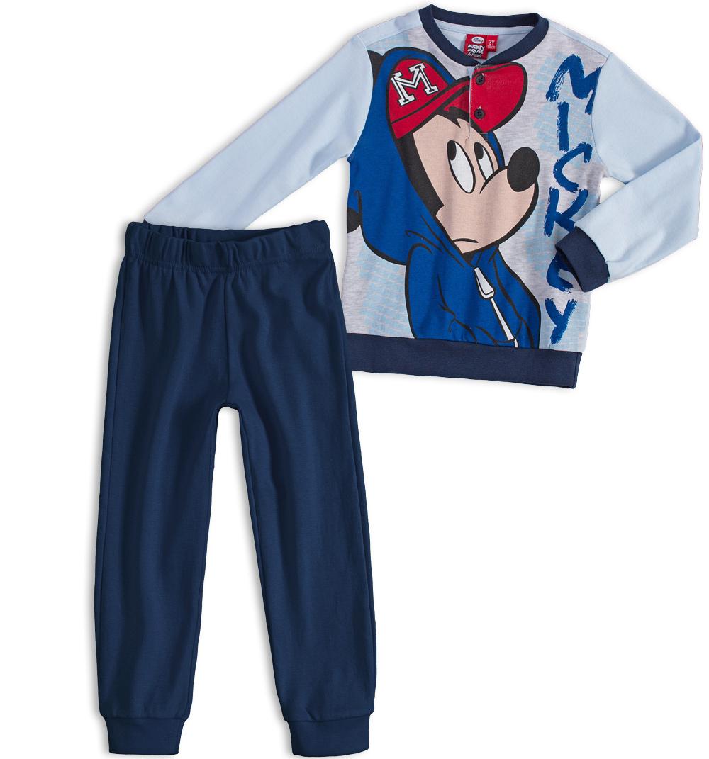 Chlapecké pyžamo DISNEY MICKEY MOUSE tmavě modré Velikost: 104