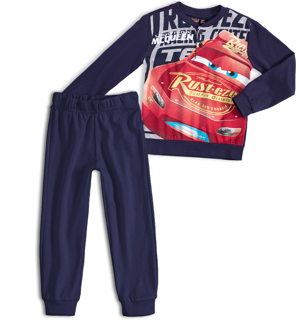 DISNEY CARS Chlapecké pyžamo DISNEY AUTA tmavě modré Velikost: 128