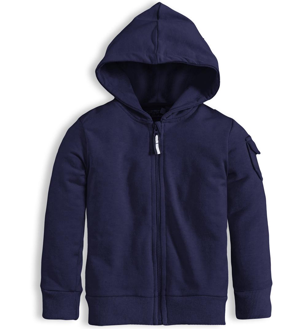 52106ba19b5 Dětská mikina s kapucí DIRKJE HERALDIC modrá Velikost  98