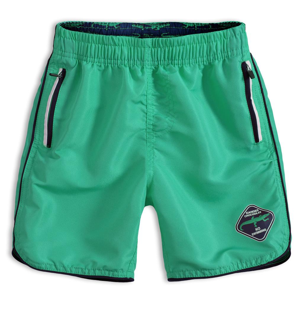 Chlapecké koupací šortky KNOT SO BAD DANGER zelené Velikost: 140