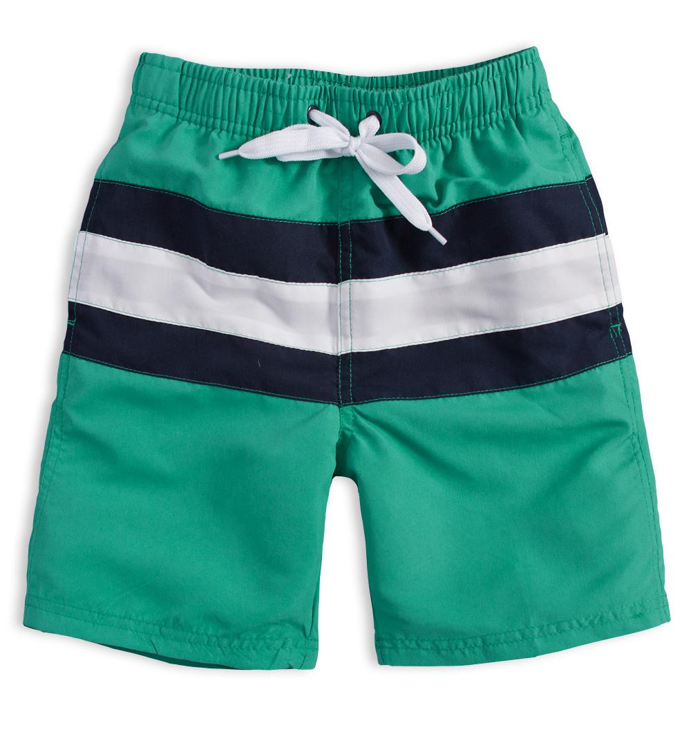 Chlapecké plavky KNOT SO BAD BOARD zelené Velikost: 140