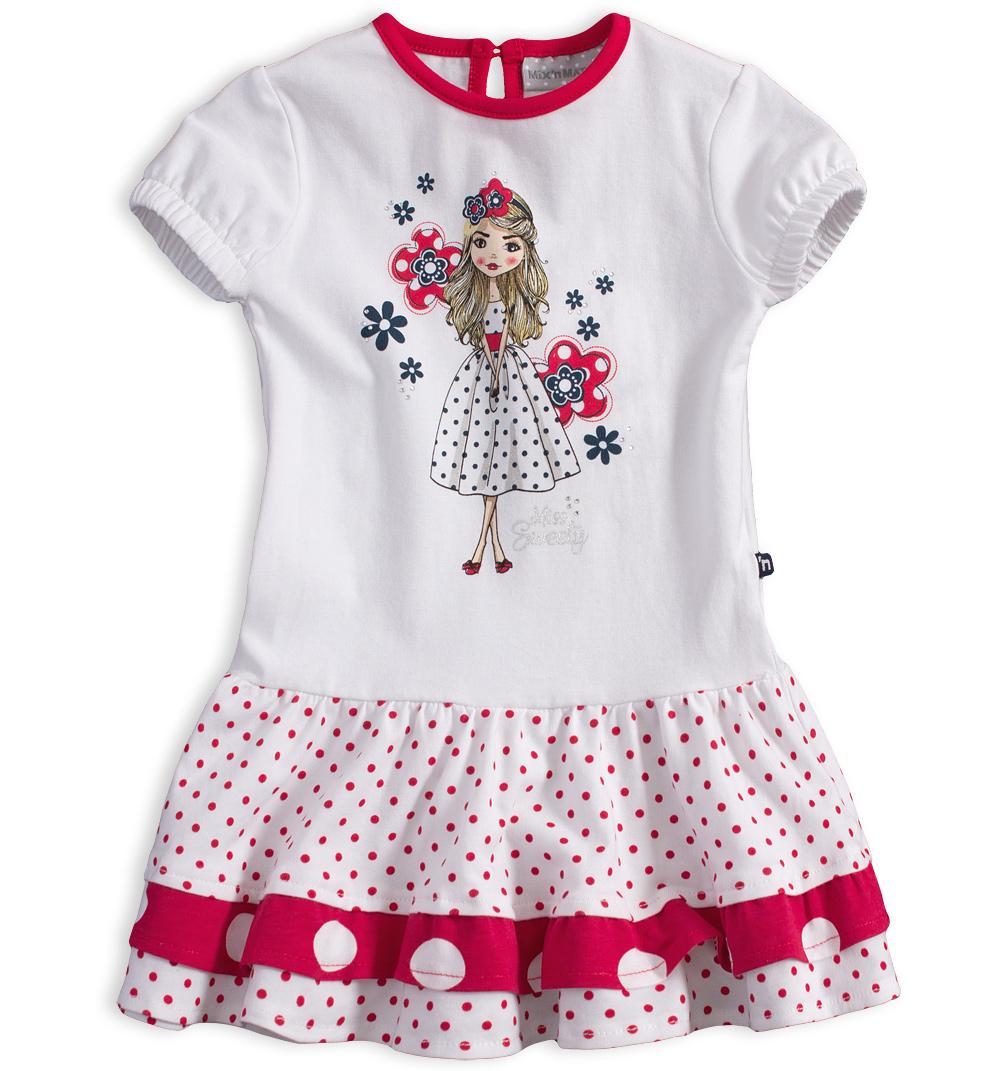 08901a84a641 Dětské šaty s krátkým rukávem Mix´nMATCH MISS SWEETY červené Velikost  86