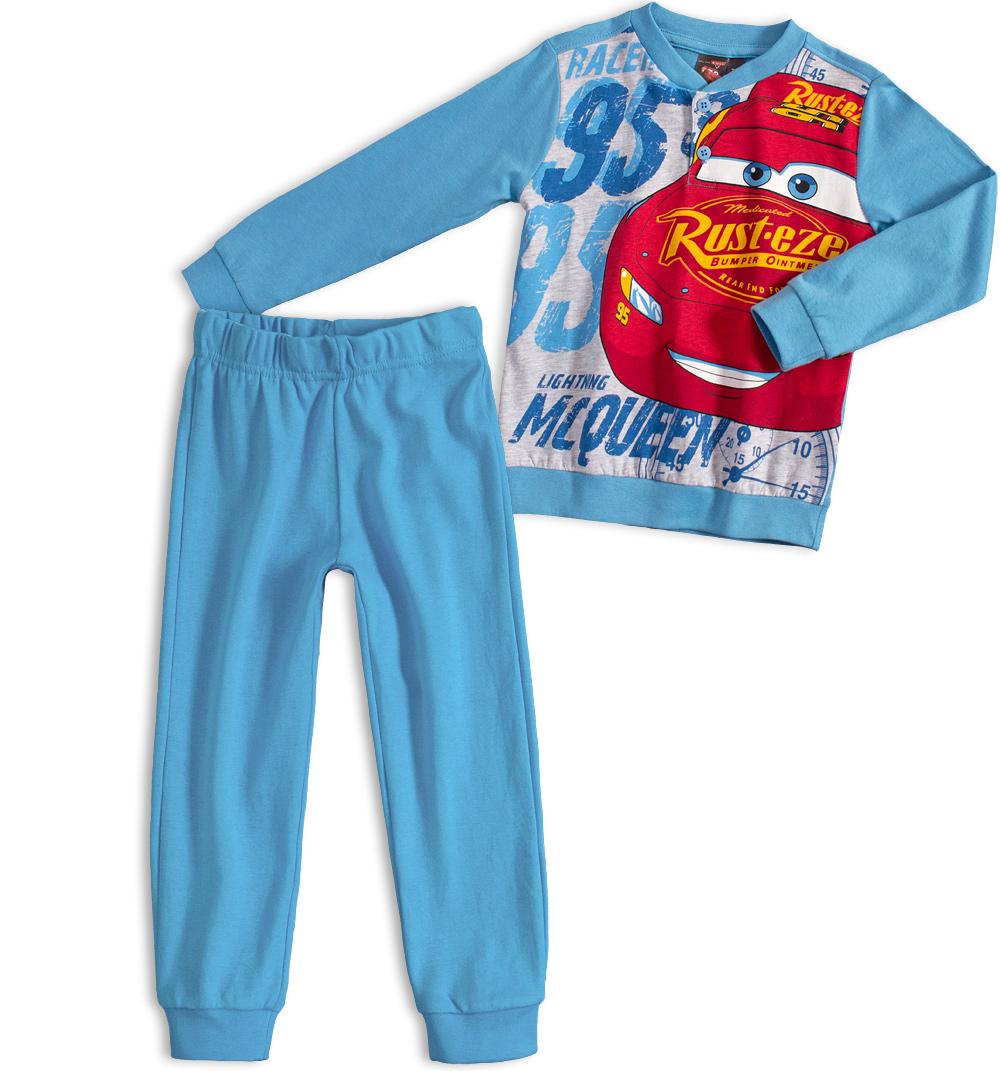 Chlapecké pyžamo Disney CARS McQUEEN světle modré Velikost: 98