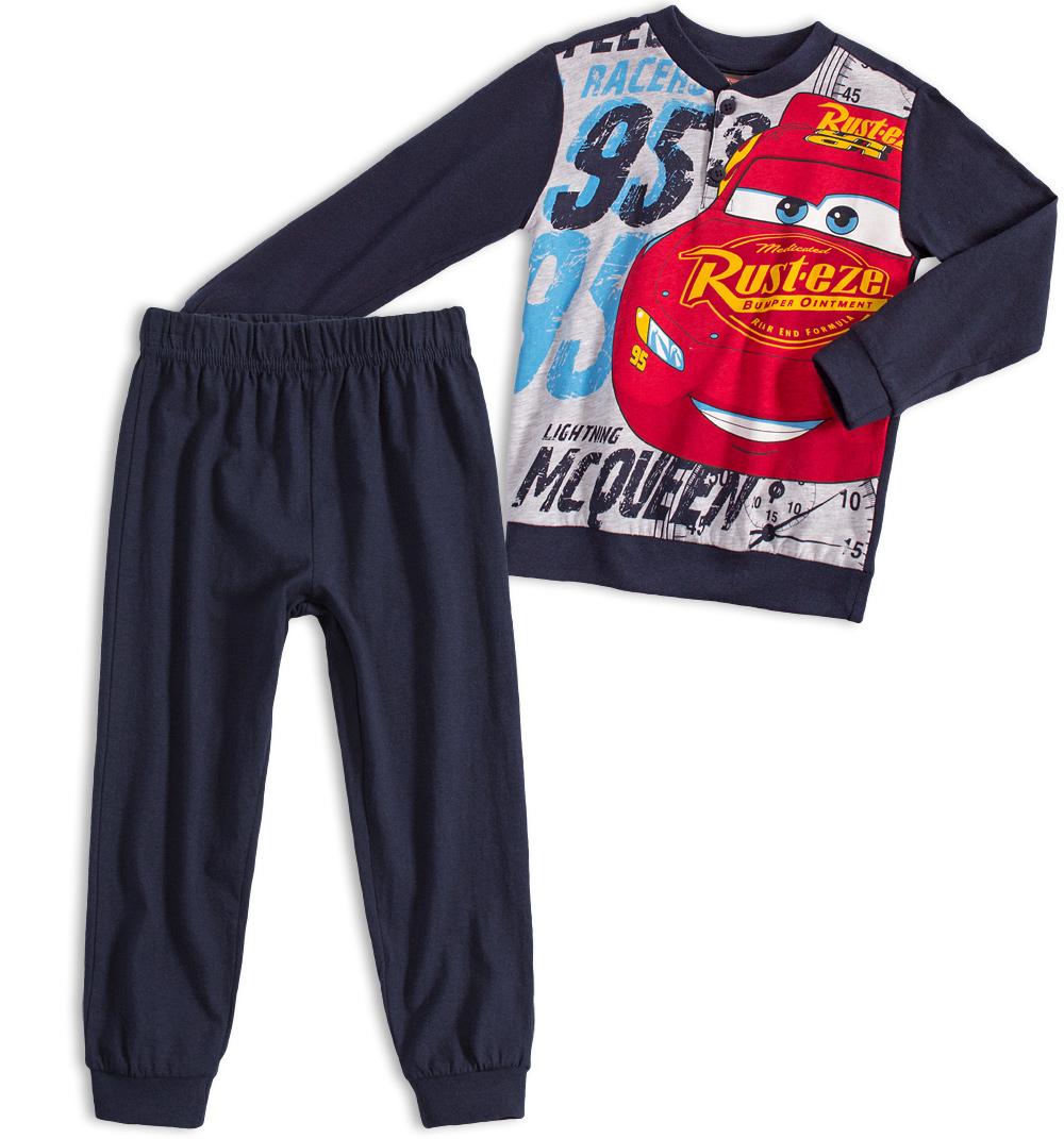 Chlapecké pyžamo Disney CARS McQUEEN tmavě modré Velikost: 98