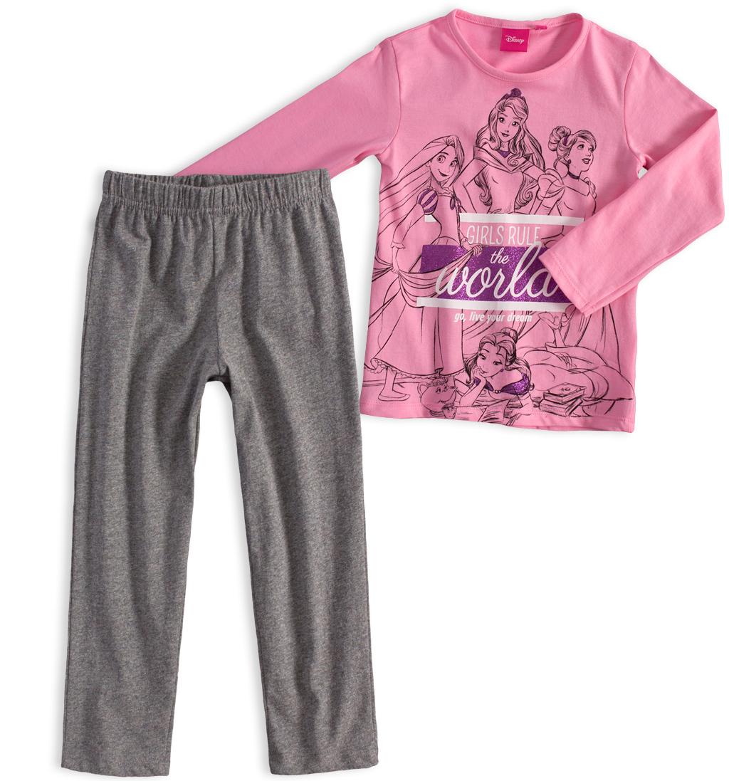 Dívčí pyžamo DISNEY PRINCESS růžové Velikost: 98
